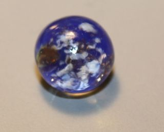 Antique Art Glass Pareweight Button photo