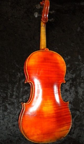 Old Antique Violin One Peice Back 1900 ' S German Or Italian photo