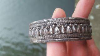 Ancient Silver Roman Bracelet photo