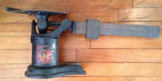 Vintage Cast Iron Postal Scale - Weis Manufacturing - Monroe Michigan photo