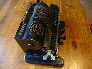 Rare Russian Mechanical Adding Machine Arithmometer Feliks (copy Walter) photo