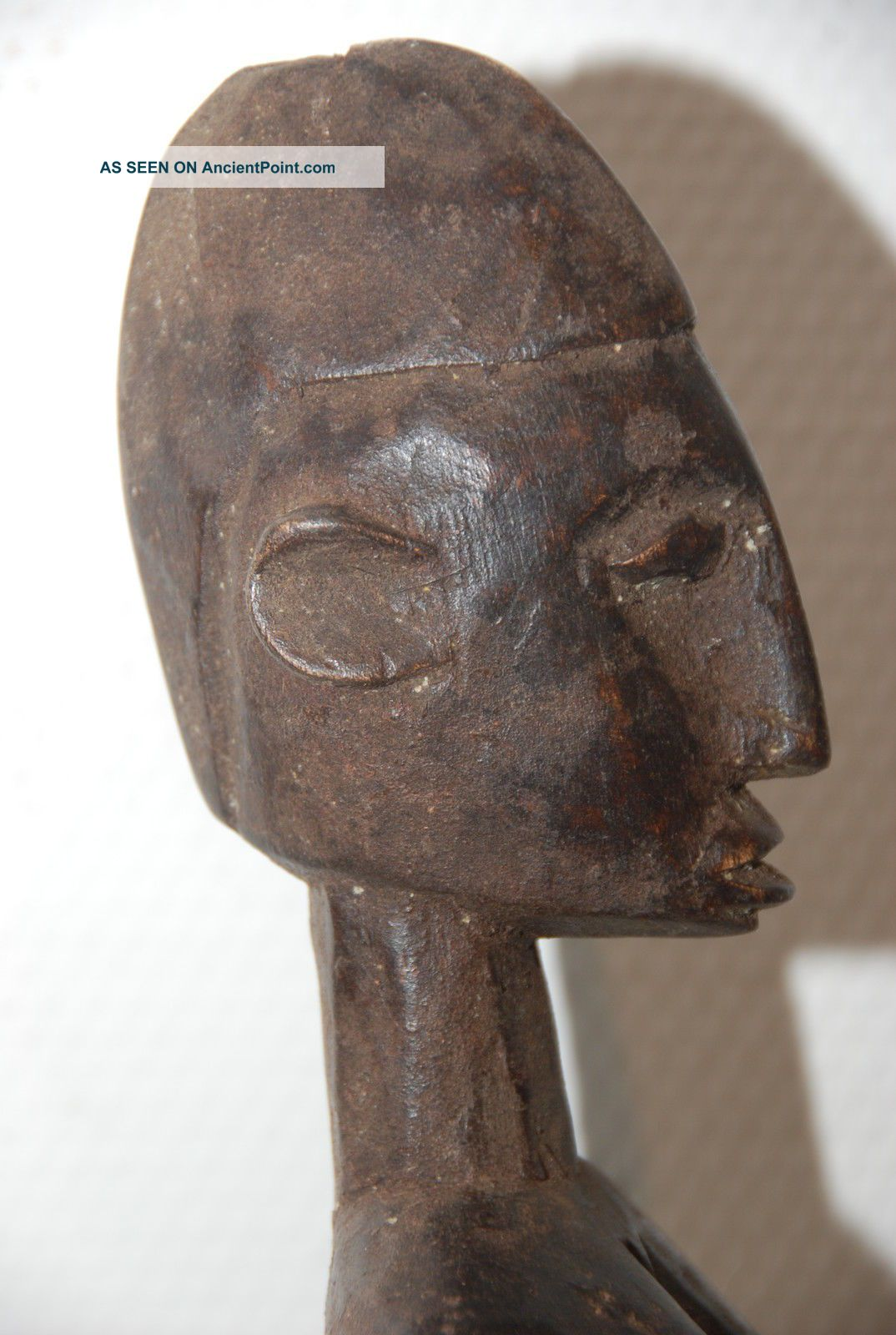 Burkina Faso: Old Tribal African Dogon Figure. Sculptures & Statues photo