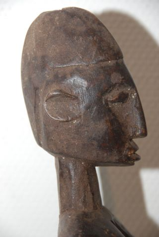 Burkina Faso: Old Tribal African Dogon Figure. photo