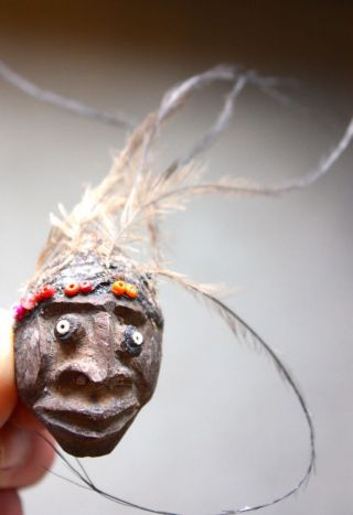 Amulet Mask From Tambunam - Early 1980s photo