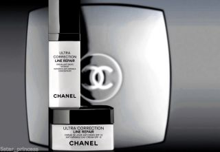 Chanel Ultra Correction Line Repair Serum Intensive Concentrate And Day Cream photo