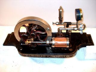 Vintage C.  Cretors & Co.  Steam Engine Popcorn 7