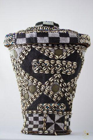 Kuba Wisdom Basket - Congo Drc photo
