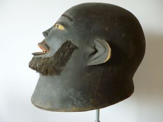 Old Makonde Helmet Mask photo