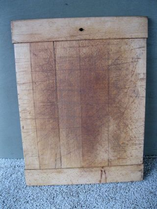 Vintage Cutting Board Primitive Country 16
