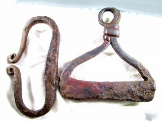 Roman Iron Fire Starters - Ancient Legionary Artifacts - B647 photo