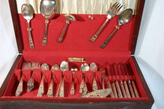 Harmony House Silverplated Flatware Aa,  Garlang Az35 photo