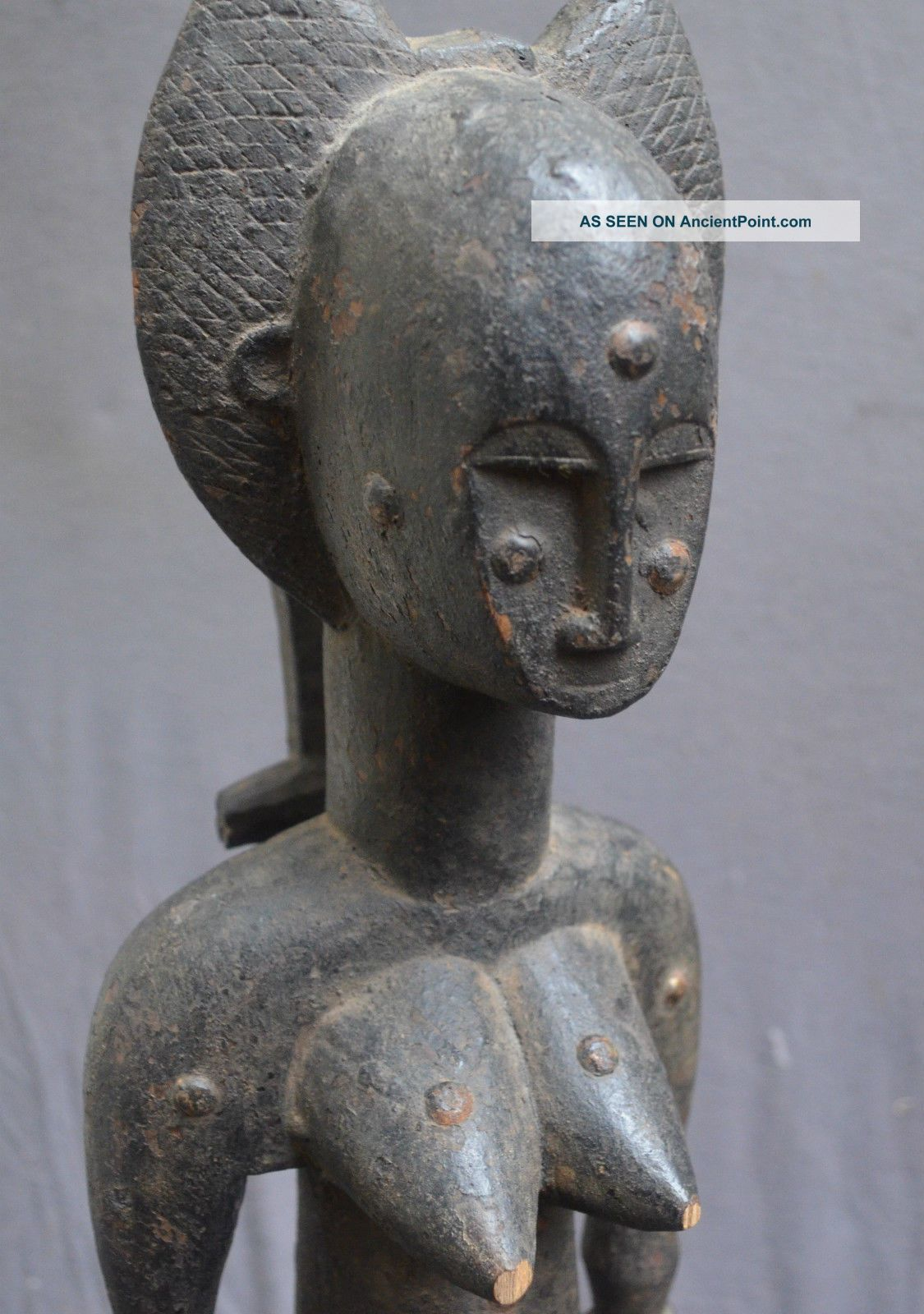 Statue Of A Woman With A Hair Dress,  Drc,  Africa Sculptures & Statues photo
