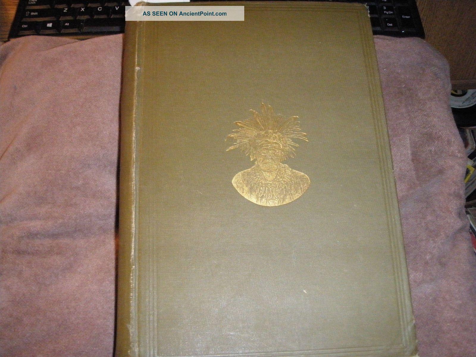 Rare Zuni Indian Bk 1904