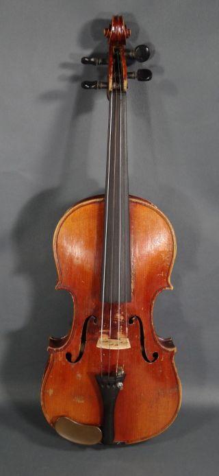 Antonius Stradivarius German 4/4 Antique Violin Fiddle Concert Master Instrument photo