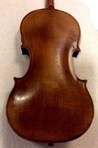 Fine Antique Handmade German 4/4 Violin - Around 90 Years Old - Klingenthal photo