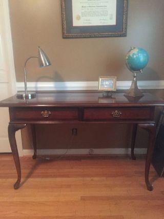Queen Anne Cherry Desk photo