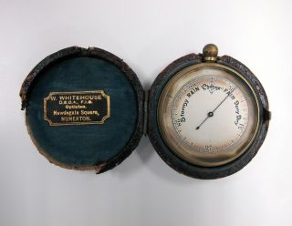 Cased Pocket Barometer photo