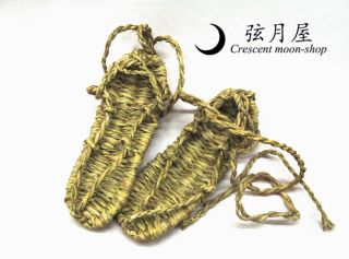 Traditional Japanese Straw Sandals