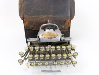Antique Blickensderfer No.  5 Portable Typewriter 501 Special Circa 1900s photo