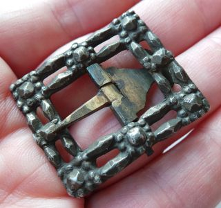 A Bronze Buckle From The 17th.  Century - Detecting Find Amsterdam. photo