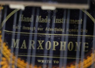 Antique Marx Marxophone Pianophone Zither Autoharp C.  1920 photo