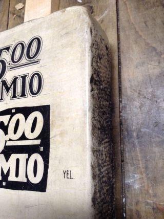 Antique Litho Stone Premio Champlin photo