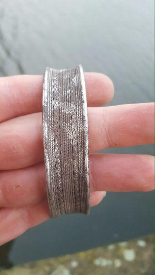 Roman Silver Ancient Bracelet photo