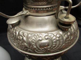 Antique Miller Kerosene Table Lamp C - 1880,  S 90 S photo