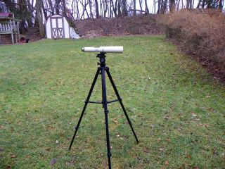 Parks Optical Pioneer 15 - 60x60 Zoom Field Telescope Spotter & Parks Tripod photo