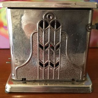 Antique Vintage Mastercraft Toaster / No.  85 / Circa 1920 ' S / Art Deco Styling photo
