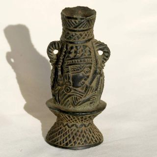 Ethiopan Sone Seal Sculpture From Axum Pure Traditional Handwork African Rock photo