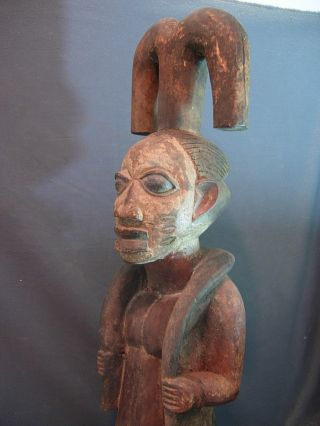 Exquiste Shango / Chango Male Shrine Figure,  Nigeria / Santeria. photo