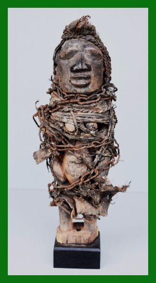 From Benin : Lovely Example Of Power Figure From Fon Tribe photo