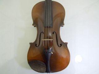 1920s Vintage 4/4 Violine Masakichi Suzuki No W4 Mij Japan Antique photo