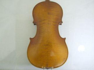 1920s Feine 4/4 Hi Geige Violin Masakichi Suzuki No5w Mij Japan Antique photo