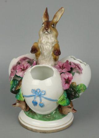 Antique 19c Scheibe Alsbach Kister Figurine