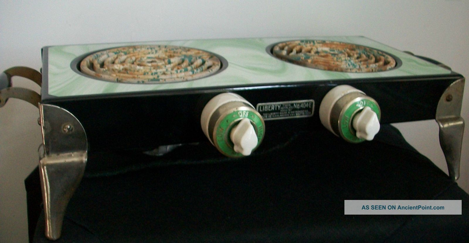Rare Vintage Art Deco 1920/30 ' S Liberty Twin Table Top Stove/hotplate - Stoves photo