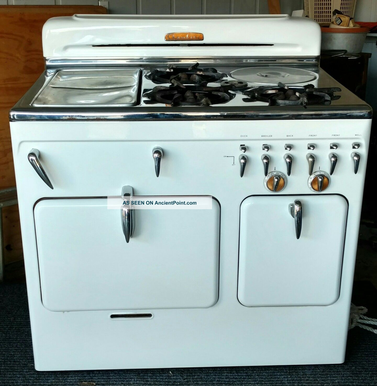 Vintage Stove By Chambers Gas Model 61 C Stoves photo