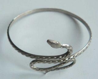 Russian Imperial Silver 84 Bracelet Snake Maker Np (nikolai Pavlov ?) 1899 - 1908 photo