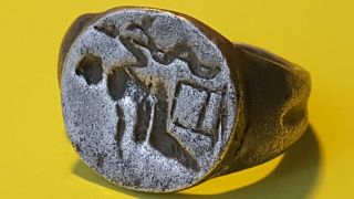 Outstanding Roman Silver Ring photo