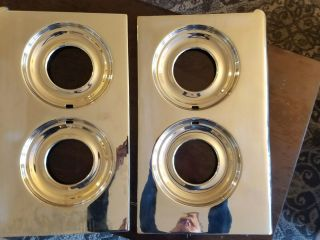 O ' Keefe & Merritt Vintage Stove Parts Chrome Stove Tops photo