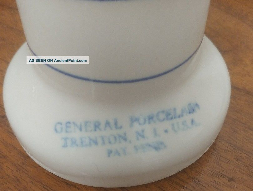 Vintage Generd Porcelain Trenton Nj Glove Mold Hand Display Industrial Molds photo