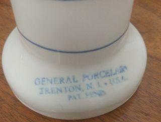Vintage Generd Porcelain Trenton Nj Glove Mold Hand Display photo