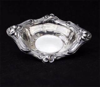 Vintage Sterling Silver Watson Co Oval Salt Cellars Nut Bowls 48.  4 G Nr photo