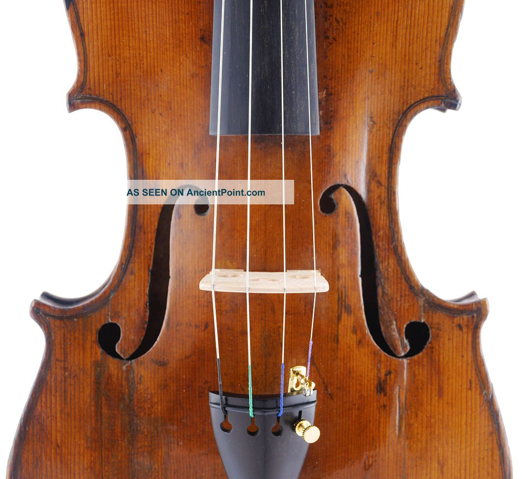 Antique Italian 4/4 Old Master Violin,  Ready To Play - Geige,  小提琴 String photo