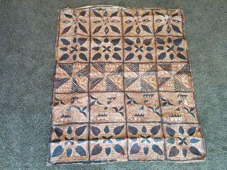 Vintage Somoa Tapa Cloth Cloth 60