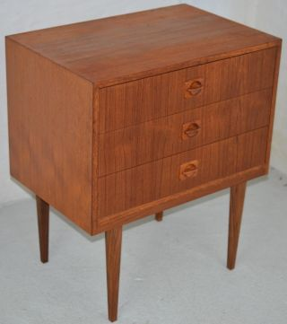 Modern Danish Design - Teak Chest Of Drawers - Wegner Era photo