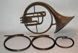 French Horn 1905 From J W Petter With 3 Crooks photo