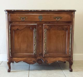 French Provincial Buffet/ Cabinet photo