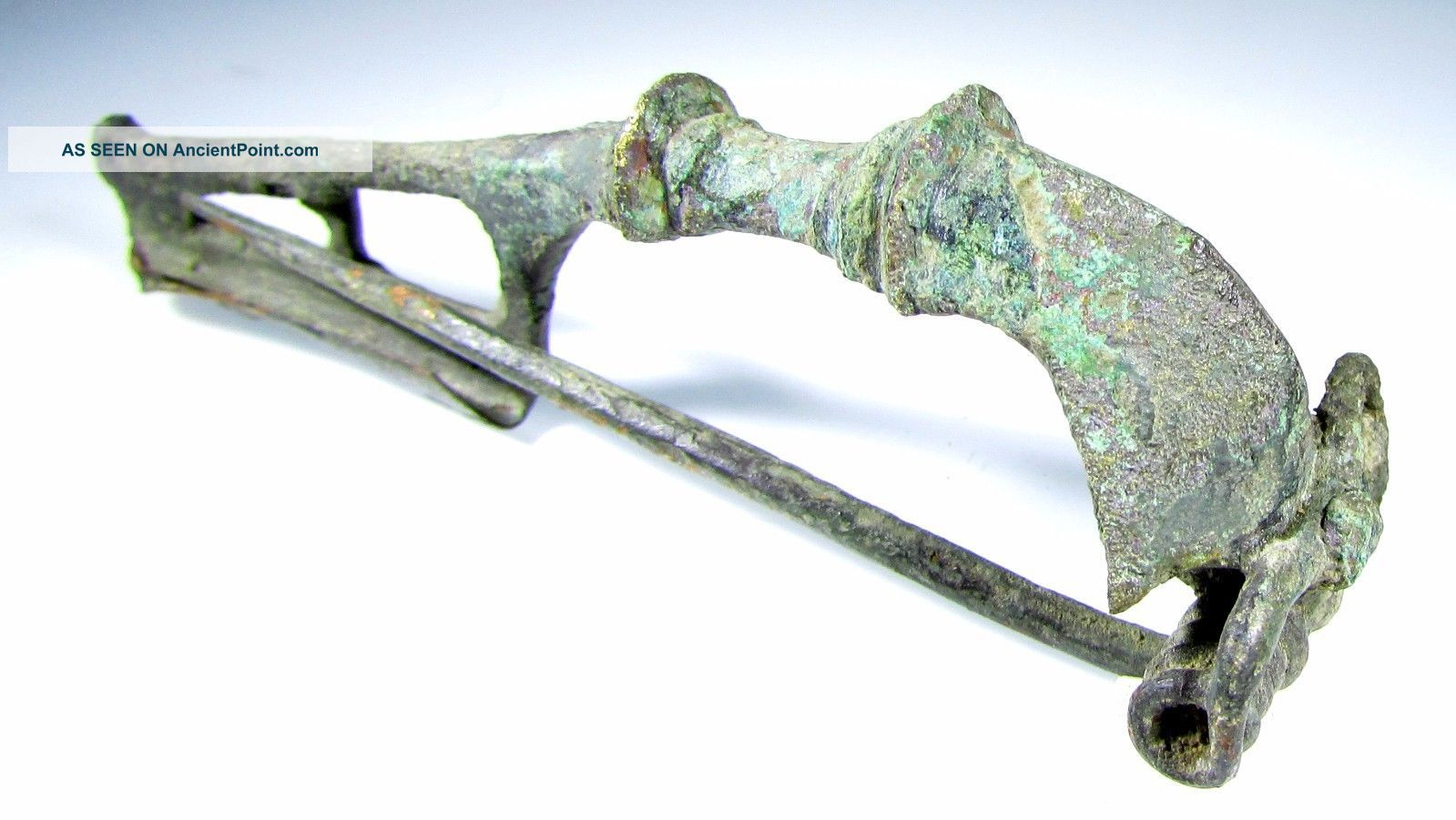 Roman Trumpet Type Brooch/fibula - Ancient Historical Artifact Stunning - C116 Roman photo